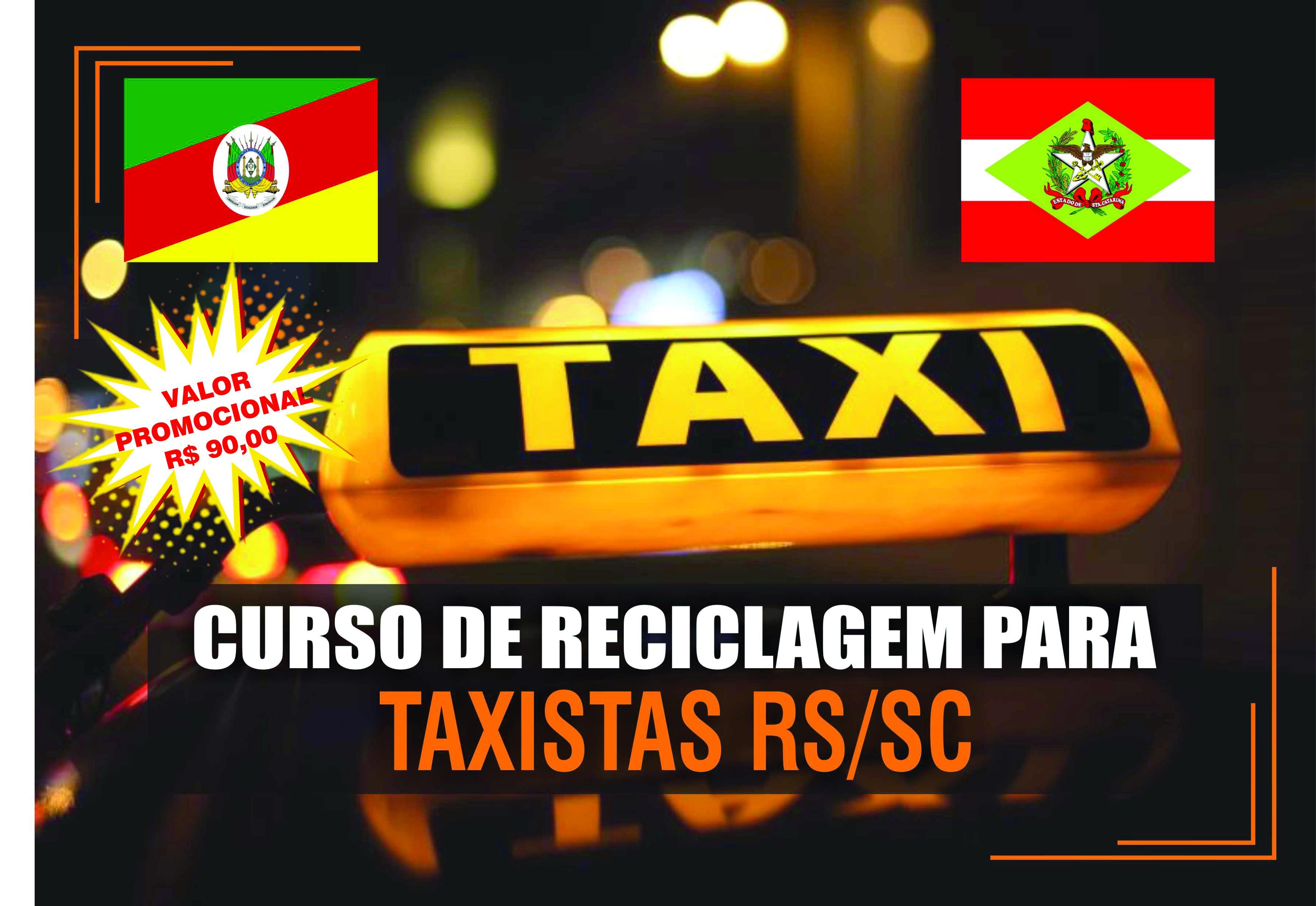 Curso de Reciclagem para Taxistas